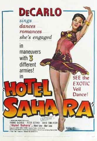 Hotel Sahara - US film poster