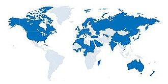International Institute of Refrigeration - IIR Member Countries