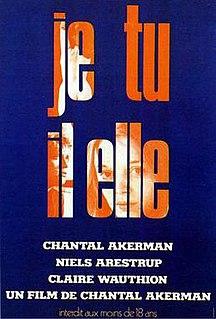 <i>Je Tu Il Elle</i> 1974 film by Chantal Akerman