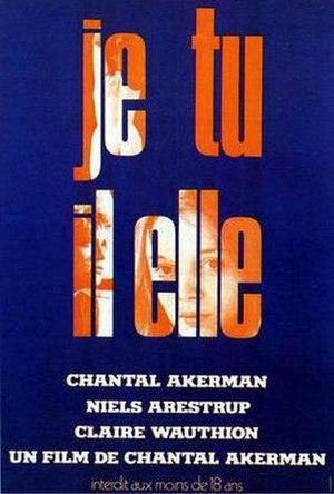 Je Tu Il Elle - Image: Je, tu, il, elle poster