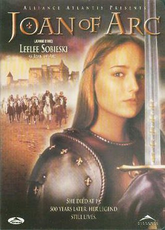 Joan of Arc (miniseries) - DVD cover for the film