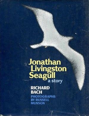 Jonathan Livingston Seagull - Book cover for Jonathan Livingston Seagull