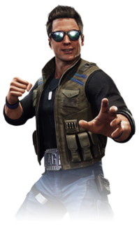 Johnny Cage Player character of Mortal Kombat