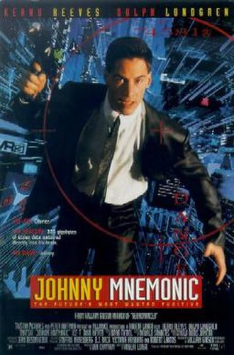 Johnny Mnemonic (film) - Theatrical release poster