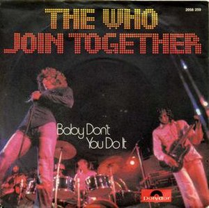 Join Together (song) - Image: Join Together cover