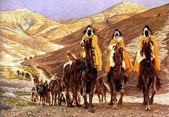 The Journey of the Magi by James Tissot