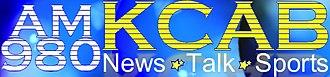 KCAB (AM) - Image: KCAB AM980 logo