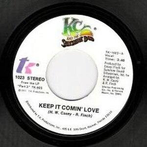 Keep It Comin' Love - Image: KC KICL