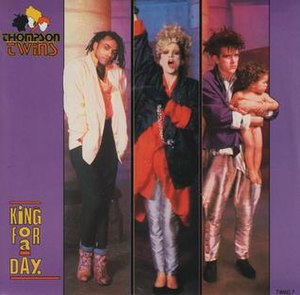 King for a Day (Thompson Twins song) - Image: KFAD1