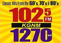 KGNM 1025FM 1270am Logo