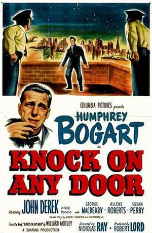 Knock on Any Door - Theatrical release poster