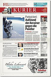 Austrian daily newspaper