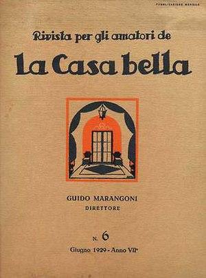 Casabella - La casa bella, n. 6, June 1929.