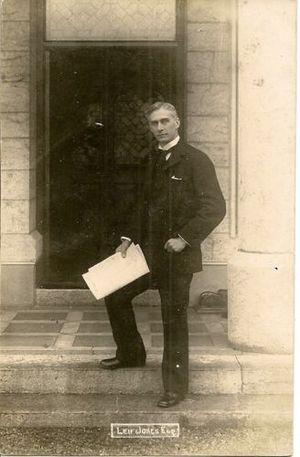 Leifchild Leif-Jones, 1st Baron Rhayader - Leif Jones circa 1905