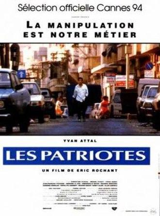 The Patriots (film) - Image: Les Patriotes poster