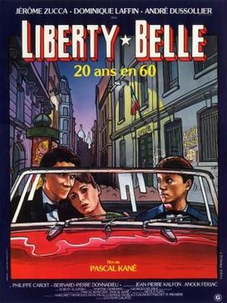 Liberty Belle (film) - French film poster