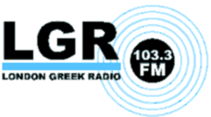 London Greek Radio - Image: London Greek Radio Logo
