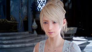 Characters of Final Fantasy XV - Image: Lunafreya from FF XV
