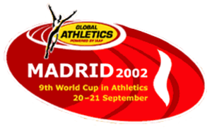 2002 IAAF World Cup - Image: Madrid 2002logo