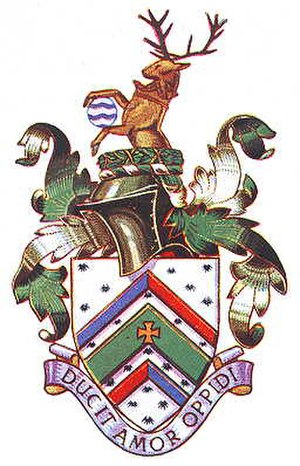 Municipal Borough of Malden and Coombe - Arms granted 1936