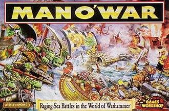 Man O' War (game) - Image: Man O War Game Cover
