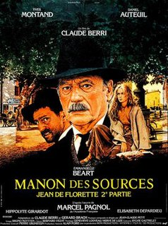 <i>Manon des Sources</i> (1986 film) 1986 French language film directed by Claude Berri