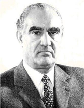 Iranian legislative election, 1960 - Image: Manouchehr Eghbal