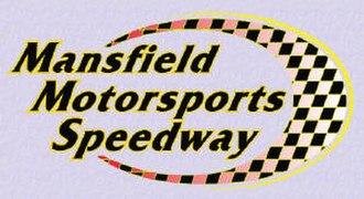 Mansfield Motor Speedway - Image: Mansfield Motorsports Speedway Logo