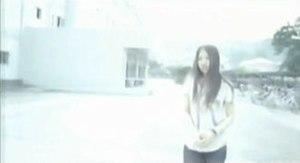 Anata no Koibito ni Naritai no Desu - Abe in the music video.