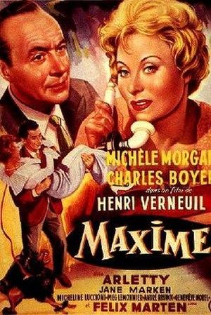 Maxime (film) - Film poster