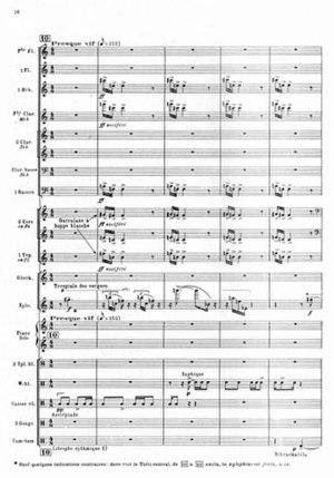 Messiaen Oiseaux exotiques excerpt