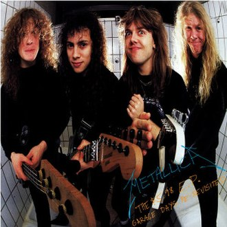 The $5.98 E.P.: Garage Days Re-Revisited - Image: Metallica The $5.98 E.P. Garage Days Re Revisited cover
