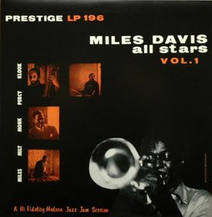 Miles Davis All Stars, Volume 1 - Image: Miles All Stars Vol 1