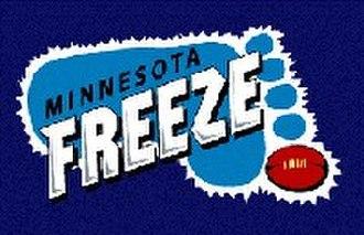 Mid American Australian Football League - Image: Minnesota Freeze logo