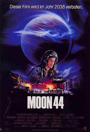Moon 44 - German theatrical poster