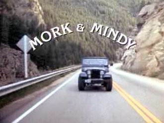 Mork & Mindy - First season title card