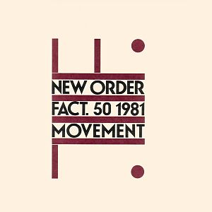 Movement (New Order album) - Image: Movement New Order US vinyl edition ivory white background red shapes