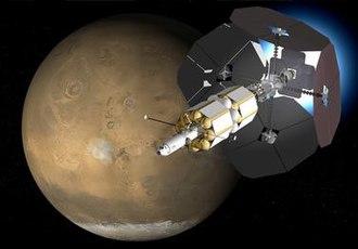 Variable Specific Impulse Magnetoplasma Rocket - Artist's impression of multi-megawatt VASIMR spacecraft