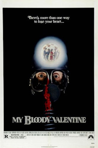 My Bloody Valentine (film) - Theatrical poster