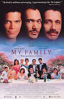 <i>My Family</i> (film) 1995 American drama film directed by Gregory Nava