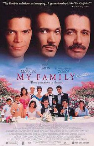 My Family (film) - Theatrical release poster