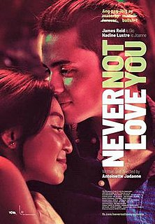 <i>Never Not Love You</i> 2018 Filipino film
