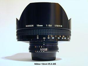 Nikkor 13mm f/5.6 - Image: Nikkor 13mm 6164