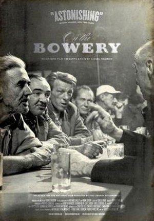 On the Bowery - Film poster