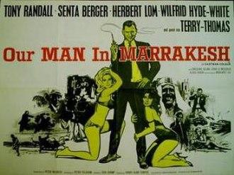 Our Man in Marrakesh - British cinema poster