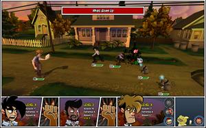 Penny Arcade Adventures: On the Rain-Slick Precipice of Darkness - Image: Paa comb attack