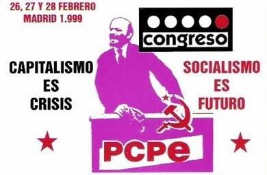 Partido Comunista de los Pueblos de España (sticker, 1999)