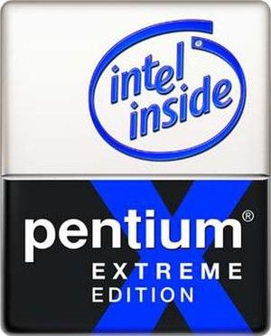 Pentium D - Original Pentium Extreme Edition logo