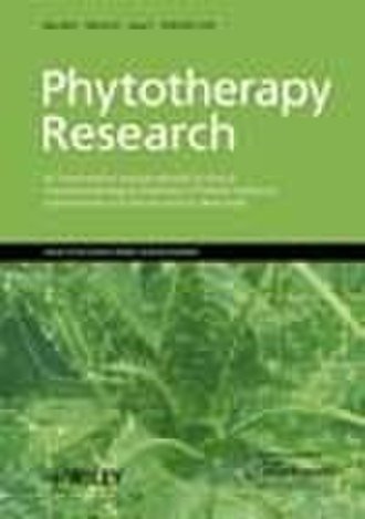 Phytotherapy Research - Image: Phytotherapy Research