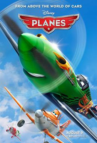 Planes (film) - Theatrical release poster